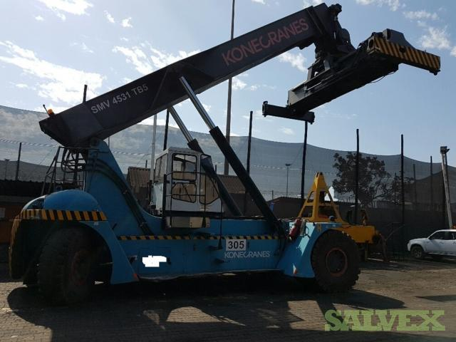 Konecranes SMV4531TB5 Reach Stacker 2008