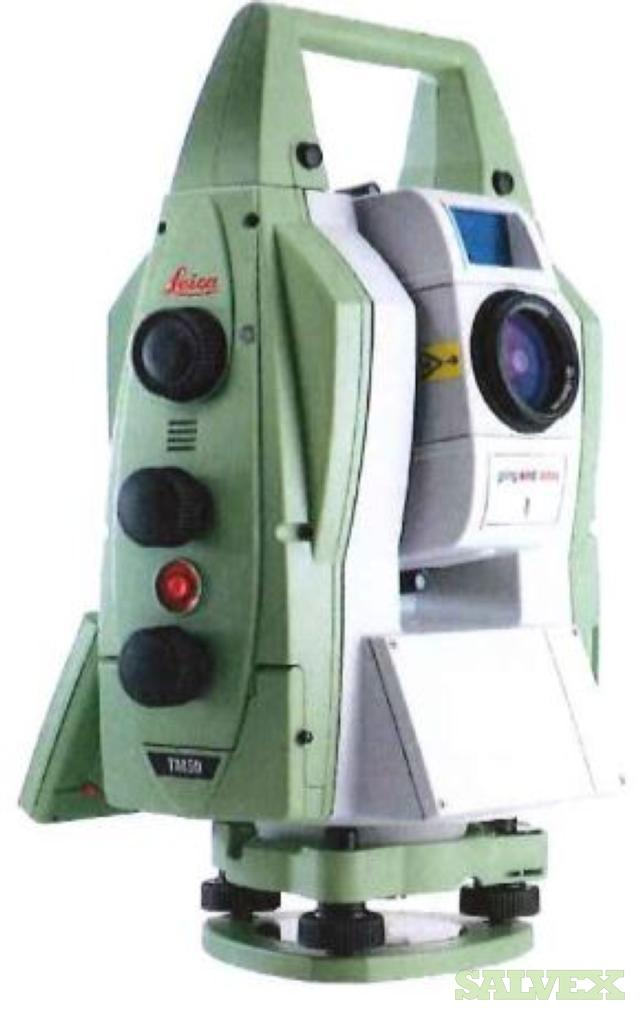 Leica Geo-systems Survey Equipment: Total Station, Digital Level and Auto Level Models (16 Units)
