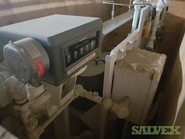 Gammon Dual Additive Injection Pump with Flow Meter - NEVER USED