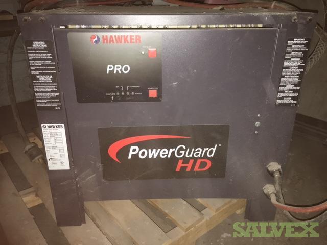 Forklift Chargers: Hawker Pro Power Guard HD, C&D Ferro V, GNB (3 Units)