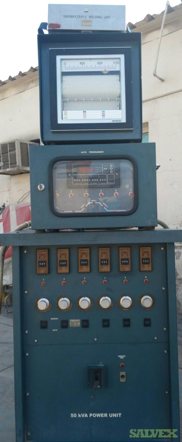 Thermocouple Welding Units 50 kva (8 Units)