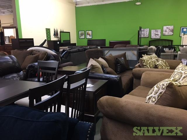 Home Furniture - Sectional, Loveseat, Dining Table, etc. (48 Items)