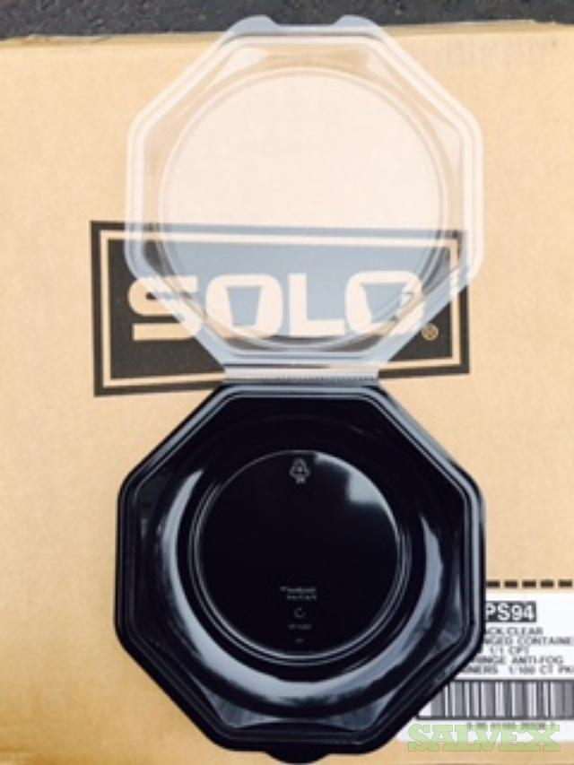 Solo Disposable 'To-Go' Containers, Cutlery Packs and Cups (8,000 Cases)