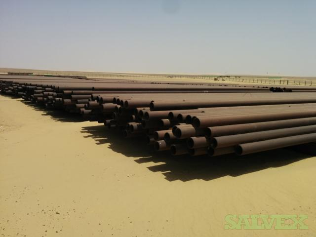 6 .280WT Grade B Surplus Line Pipe (75,080 Feet / 583.04 Metric Tons)