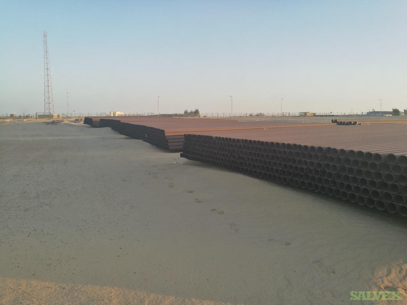6 .280WT Grade B Surplus Line Pipe (75,080 Feet / 583.04 Metric Tons)