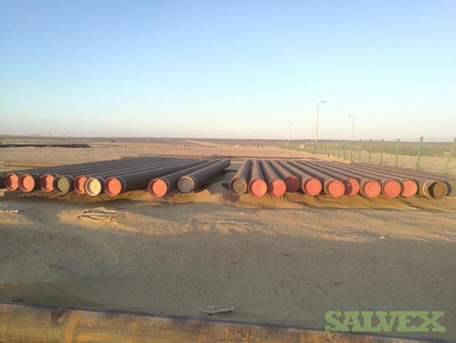 20 .624WT X56 BTC Surplus Line Pipe (800 Feet / 46.93 Metric Tons)