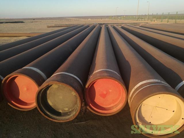 20 .625WT X56 BTC Surplus Line Pipe (760 Feet / 45 Metric Tons)