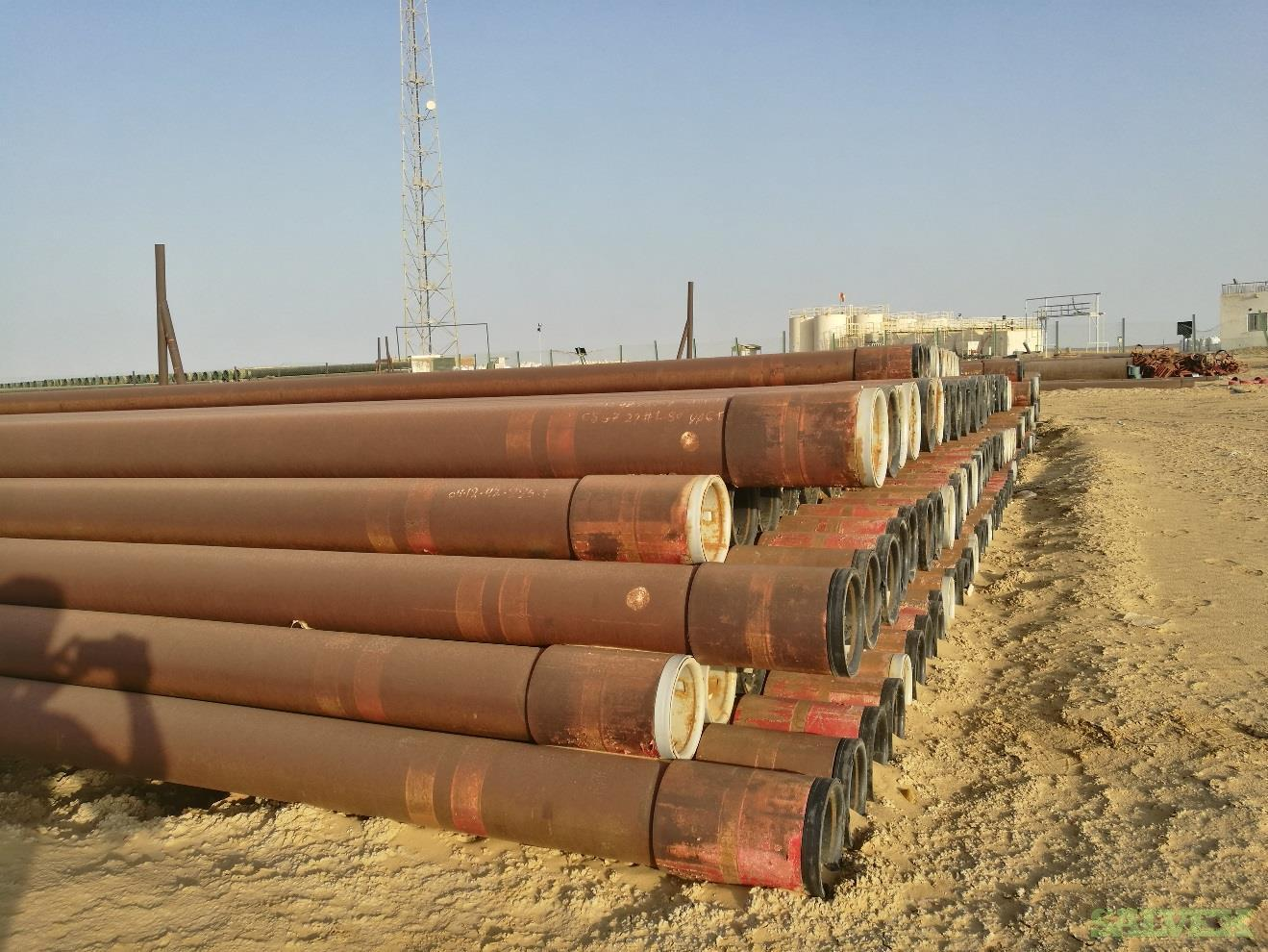 7 29# L80 VAGT R3 Surplus Casing (13,600 Feet / 179 Metric Tons)