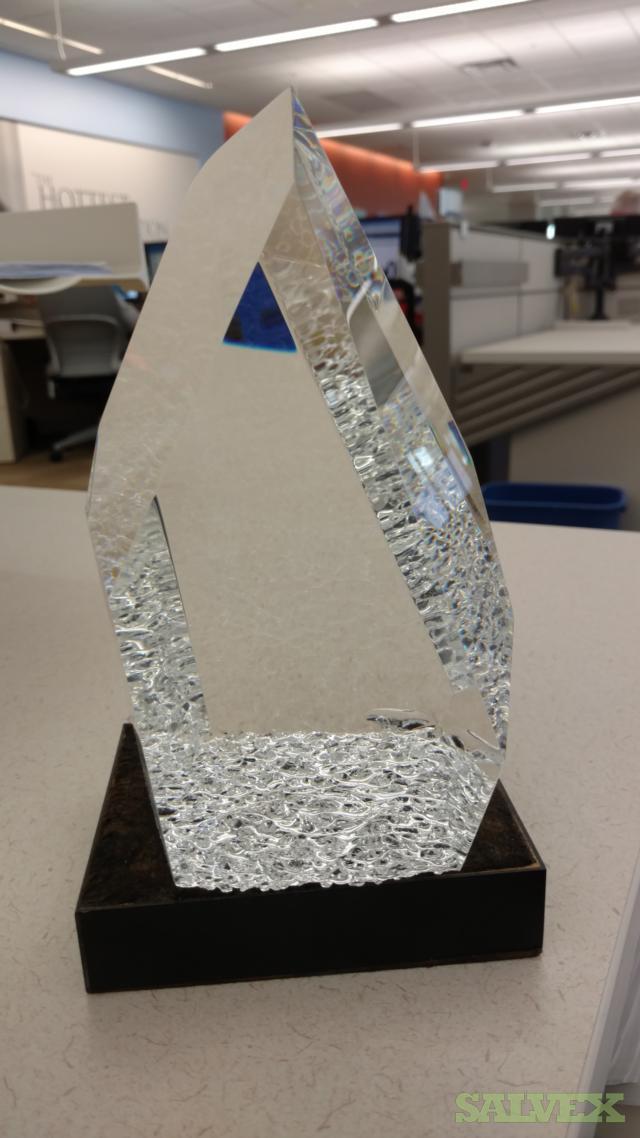 Steuben Small Glass Sculpture