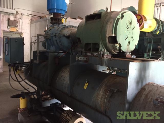 M&M 132B1211355 Ammonia Screw Compressor