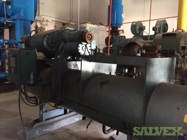 M&M 132B Ammonia Screw Compressor