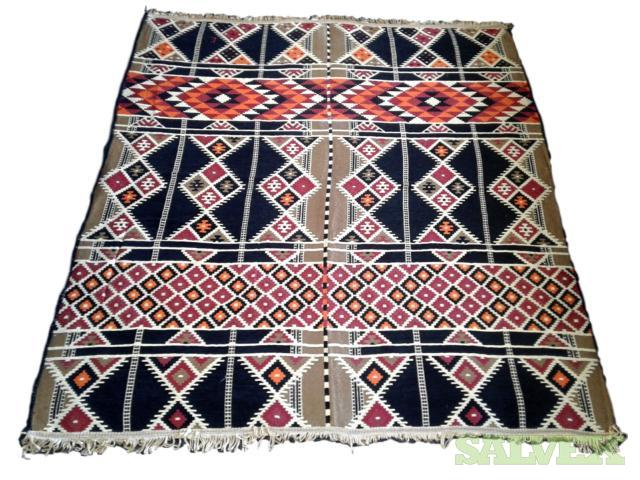 Imported Vintage Kilims, Rugs, Anti Slip Runners and Bath Mats (376 units)