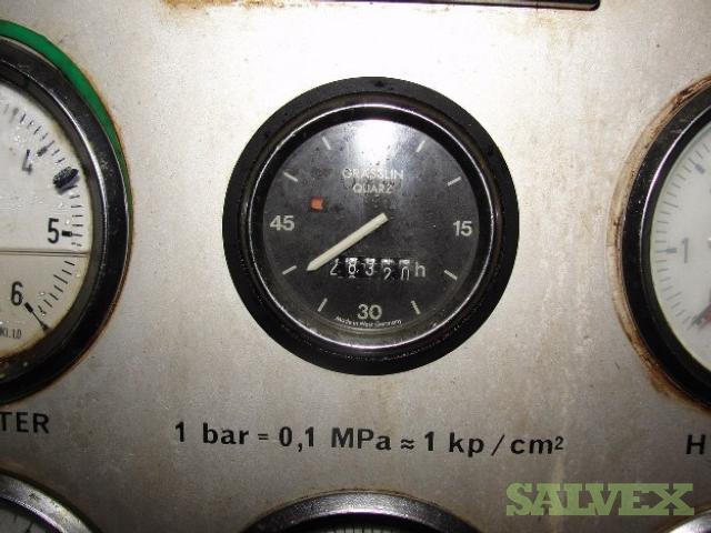 Crankshaft & Other Components From Dismntled Wartsila 12V32D Marine Engine