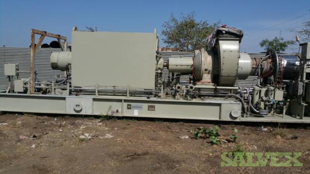 CAT Solar Taurus 60 Gas turbine Generator (4 7 MW) | Salvex