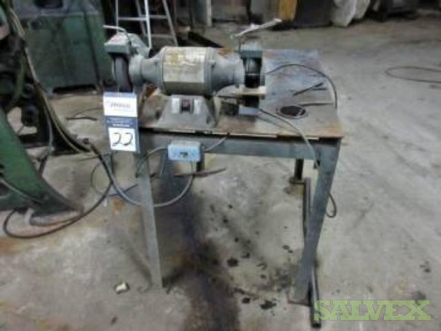 Dayton Double End Grinder 8 with Table Model 4Z909B