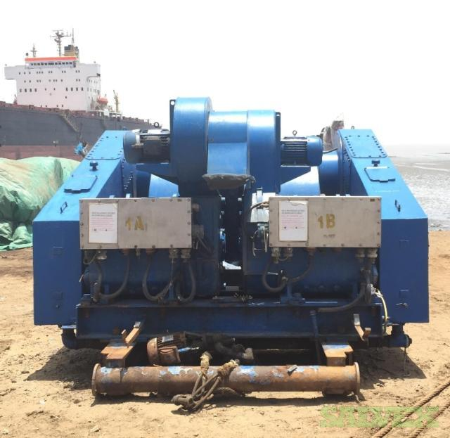National Triplex 12-P-160 Mud Pumps 1600 HP/ 5000 PSI (3 Units)