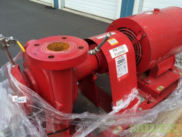 Bell & Gossett 1150 Pump w/ 100 HP Century Electric Motor - 3600 RPM (1 Unit)