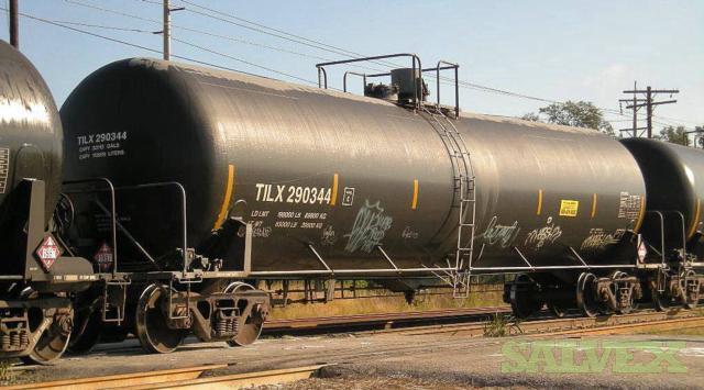 30,000 Gallon Railcars (405 Units)