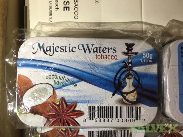 Majestic Waters Hookah Tobacco (70,272 Tins)