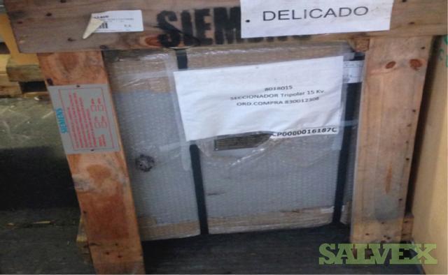 Siemens BC 1250 A High Voltage Disconnectors Centre Break