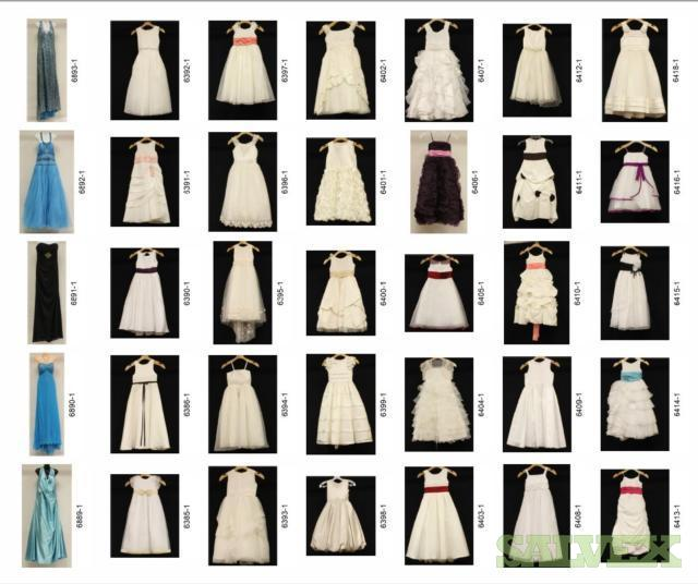 Bridal, Formalwear Quinceaneras, First Communion (1090 Pcs)