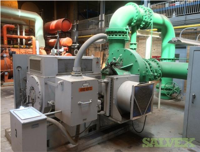 Roots HV-133 Dresser & Hoffman 78105D Centrifugal Blowers (5 Units/ Siemens - Allis Motors)