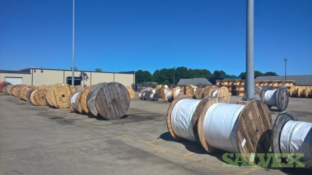 Fiber Optic Cable Reels Single and Dual Jacket  (1.3 million feet)