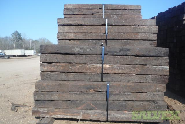 Used Railroad Ties (Grades #1 and #2) | Salvex
