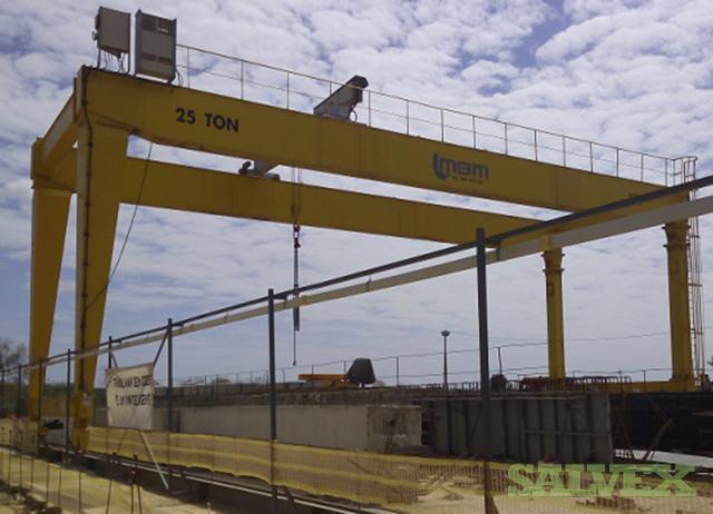 Rolling Double Beam ZLK SN Gantry Crane (25 Ton, 2 Units)