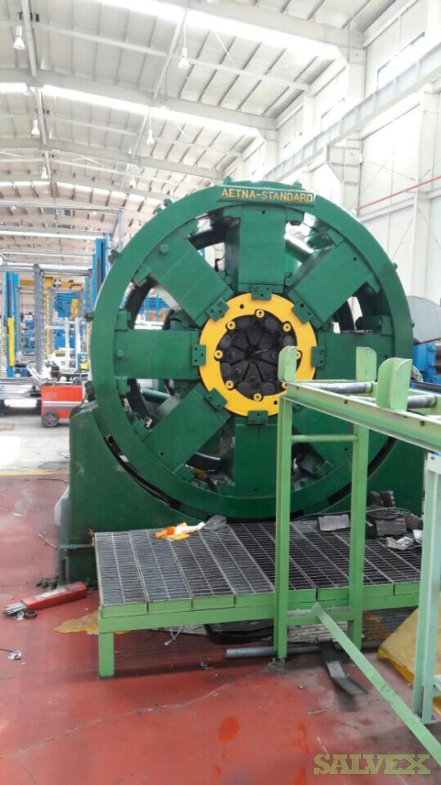 Metal Plant Equipment: Wire Drawing, Bull Block, Pilger Mill and Extrusion Press - Entire Line (2,500 Tons)