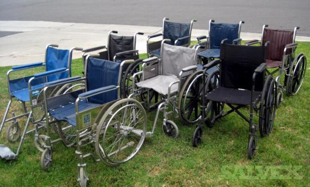 Miscellaneous Wheel Chairs (8 Units)