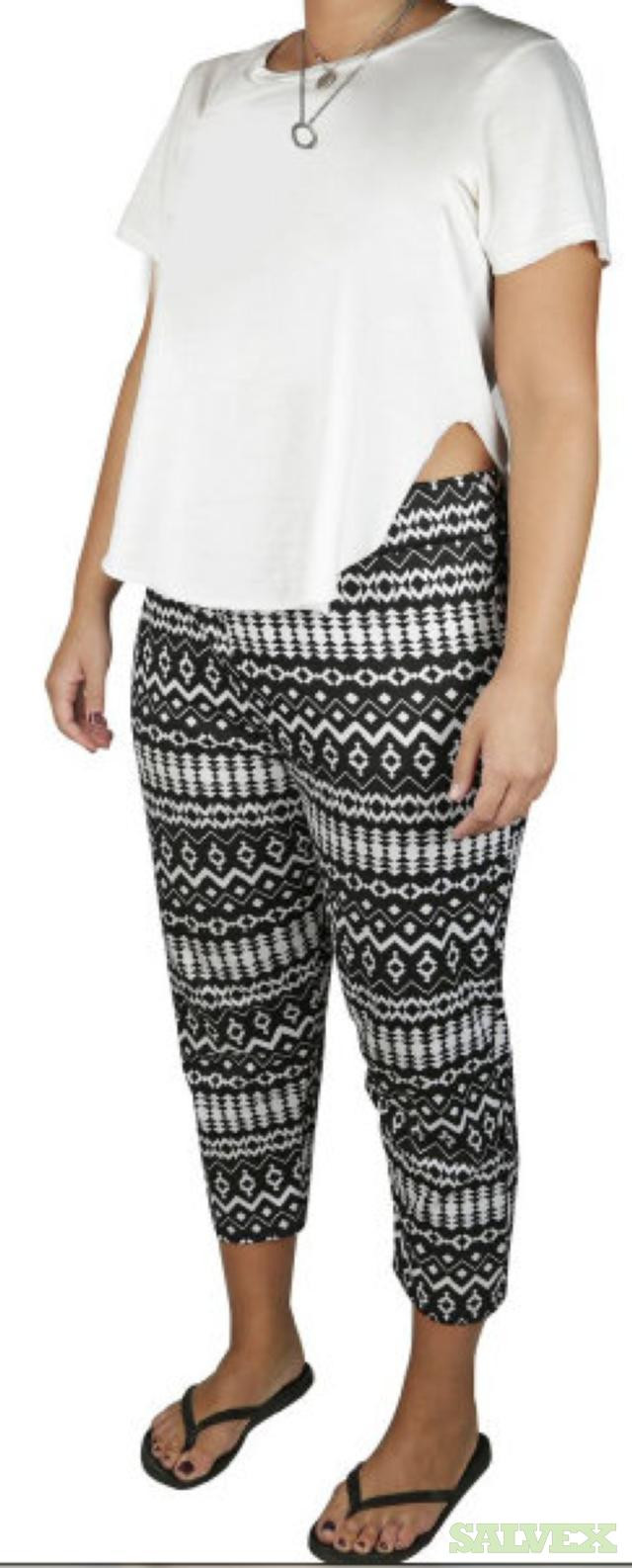 Lucy Diamond Capri Pants Plus Size