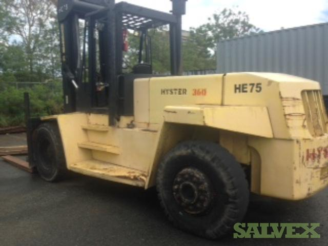 Hyster HE 75 Forklifts 7.5 Ton (2 Units)