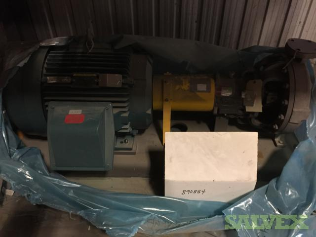 Baldor Ethanol Column Reflux Pump