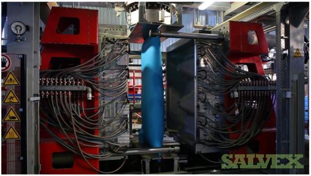 Rikutec Blow Molding Machine GBM S1500/A150coex2/2E140