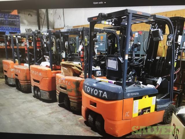 Cherry Pickers, Toyota Truck Forklifts, Crown Electric Forks