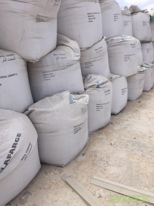 Lafarge API Well Cement - Class G HSR (2,600 Bags / 3,900 MT)