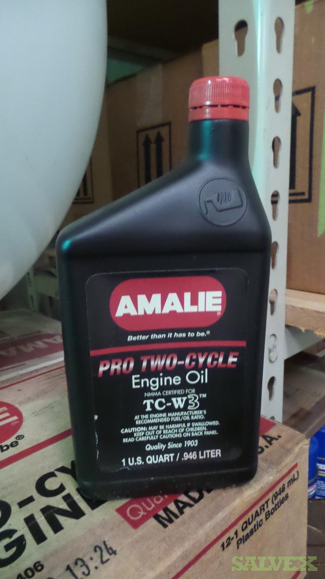Amalie Pro 2 Cycle Engine Oil (18 Boxes)
