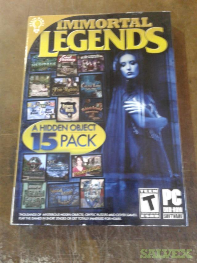DVD Games -5,000 Units