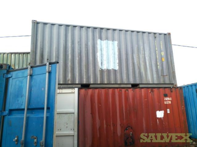 Shipping Containers (20 Units: 10 x 20ft, 10 x 40ft)