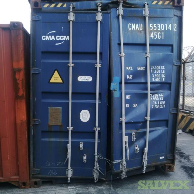 Damaged 40 ft Shipping Container