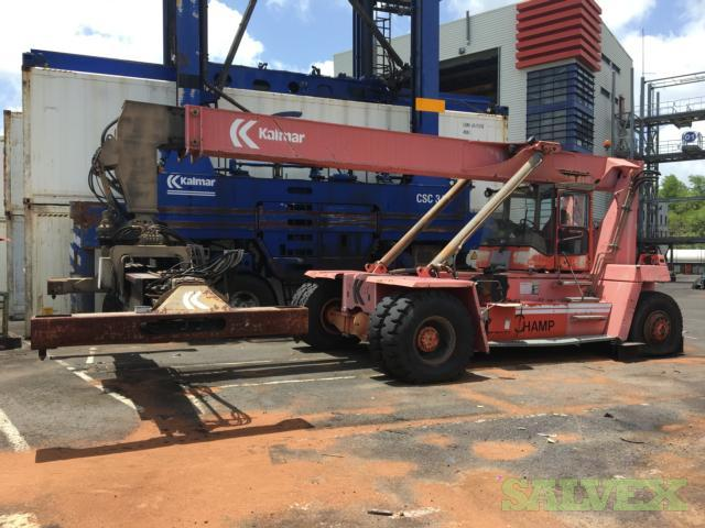Used Kalmar LMV DRD100-52S6 Reach Stacker (Container Handler) 1998