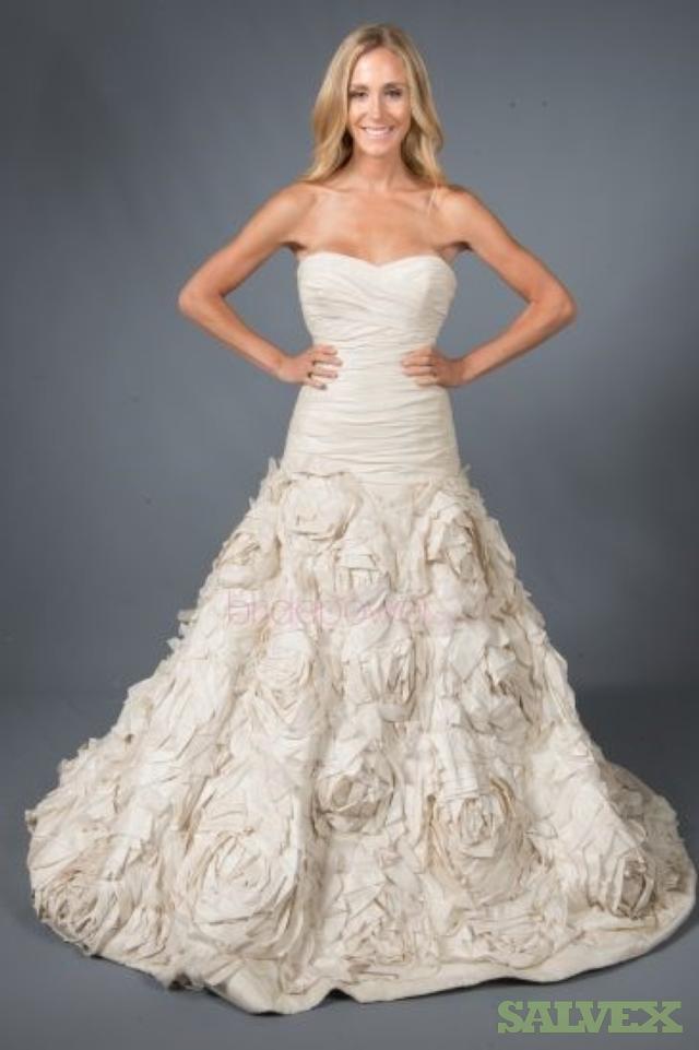 High-End Designer Wedding Gowns (200 Gowns) | Salvex