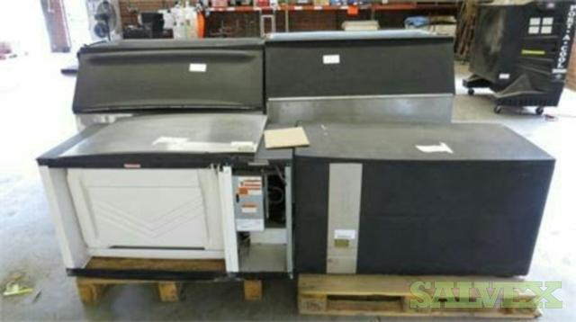 Ice-o-matic ICE140GHR2 & Manitowoc SD1492N Ice Machines (2 units)