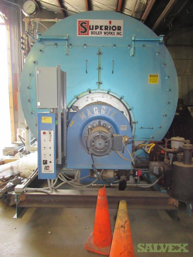 Superior 400HP Boiler, 2001