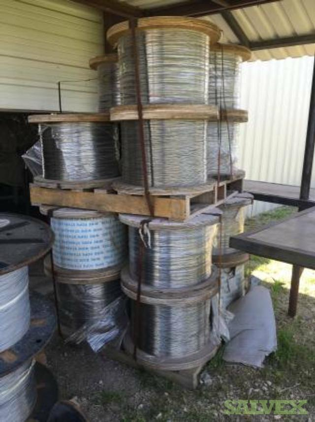 Stainless Steel Wire Rope (18 spools)   Salvex