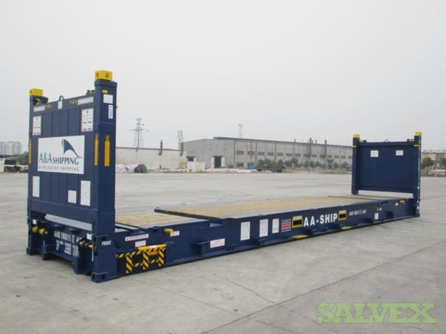 Shipping Containers - Super Racks (7 Units x 40 Ft)