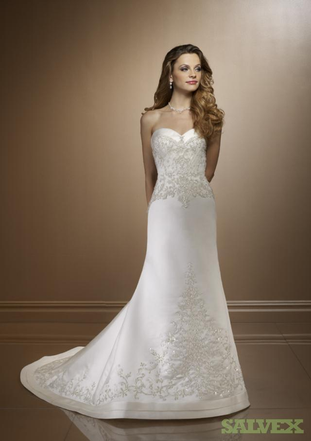 Wedding Gowns: Maggie Sotero, Mori Lee, Justin Alexander, Alfred Angelo  (75 Units)