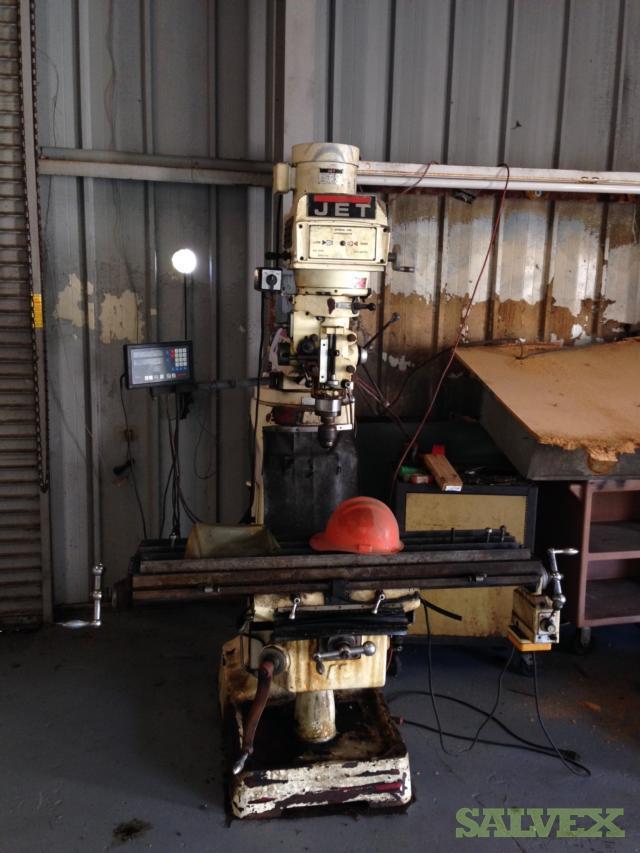 JET Turret Milling Machine Model JTM-4VS