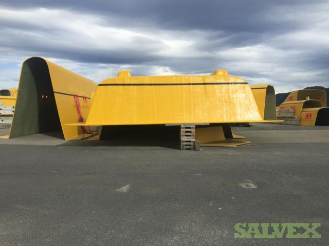 GRP Covers - Offshore Trench Protection (29 Units)